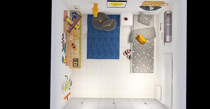 Quarto do Lu Interior Design Render