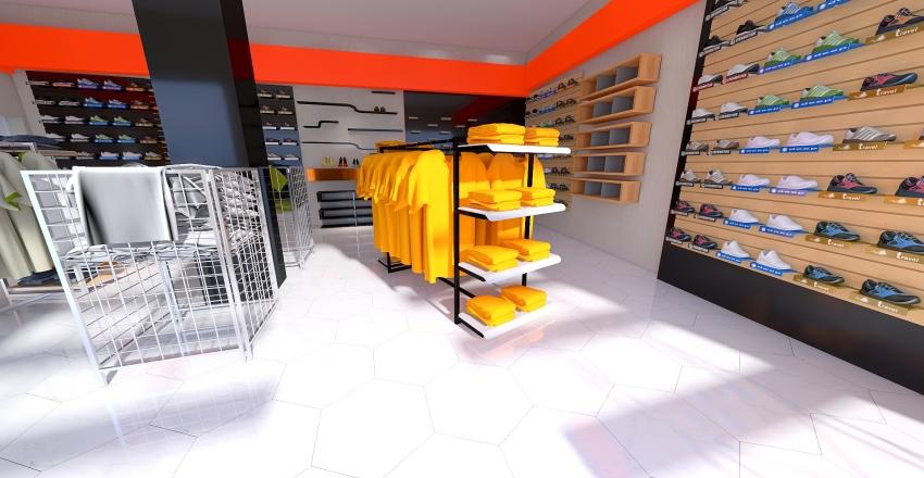 IZAD SHAHR TANTAK STORE BY SHEEDWOOD Interior Design Render