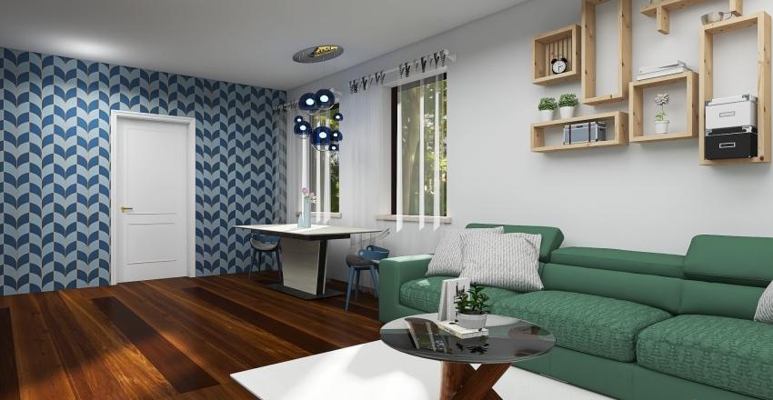 Tiny house #1 Interior Design Render