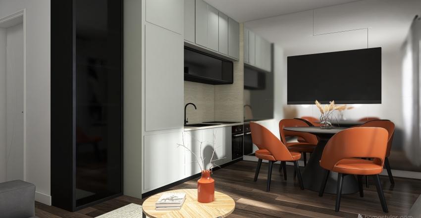 Small Space  Interior Design Render