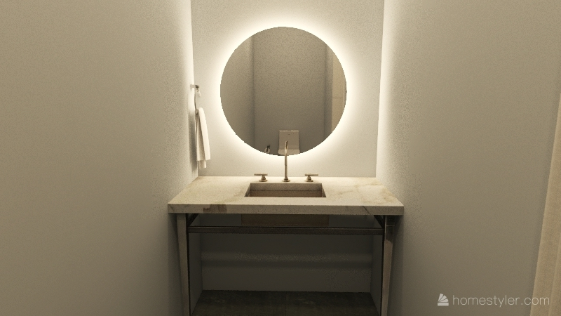 Modern Modern Interior Design Render