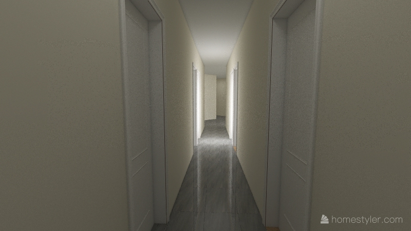 ufficio toscanini Interior Design Render
