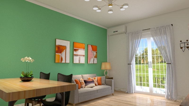 Summer breeze Interior Design Render