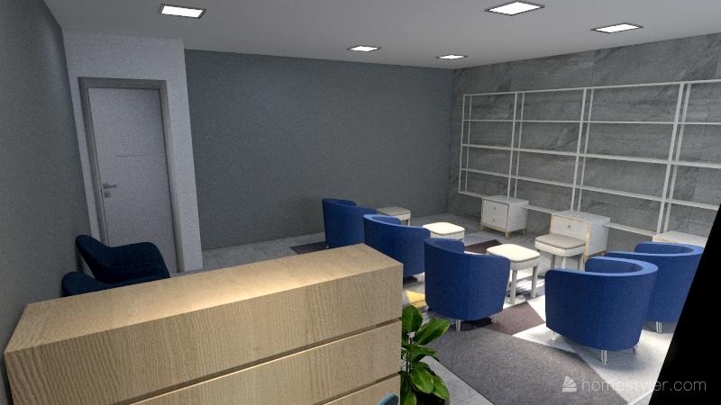 Educere - Conceito aberto Interior Design Render