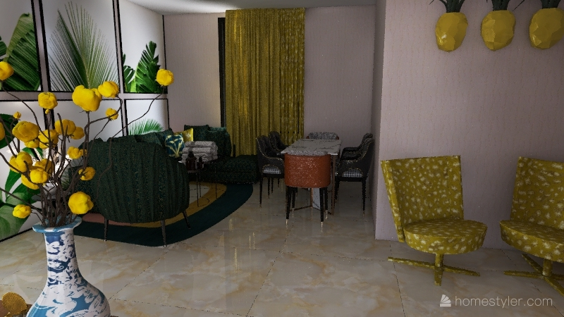 sample 3d Interior Design Render