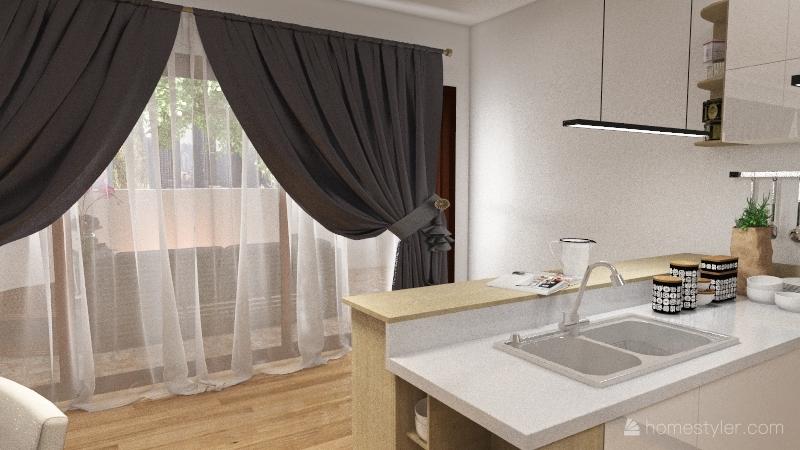 Casa Famigliare  Interior Design Render