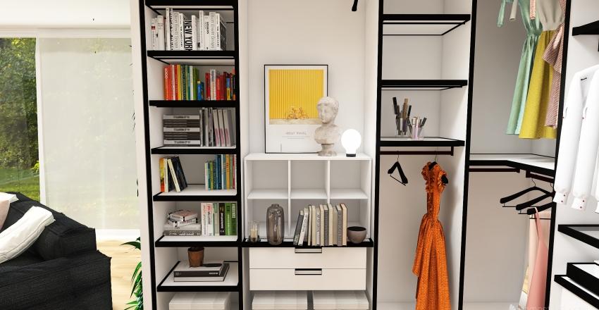 fishy bedroom Interior Design Render