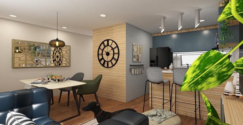 CASA 3 REVOLUCIÓN Interior Design Render