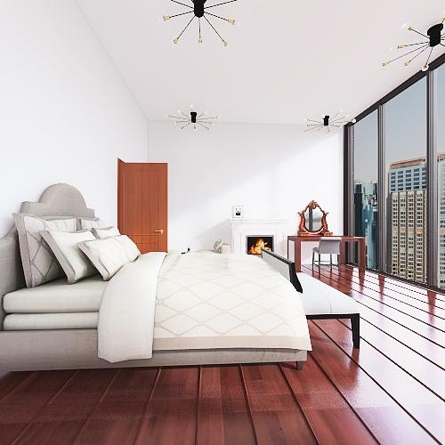 old house Interior Design Render