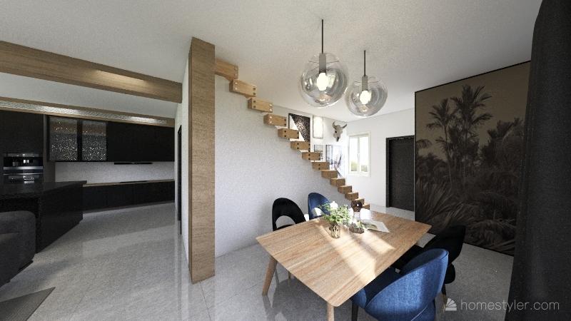 Séjour Interior Design Render