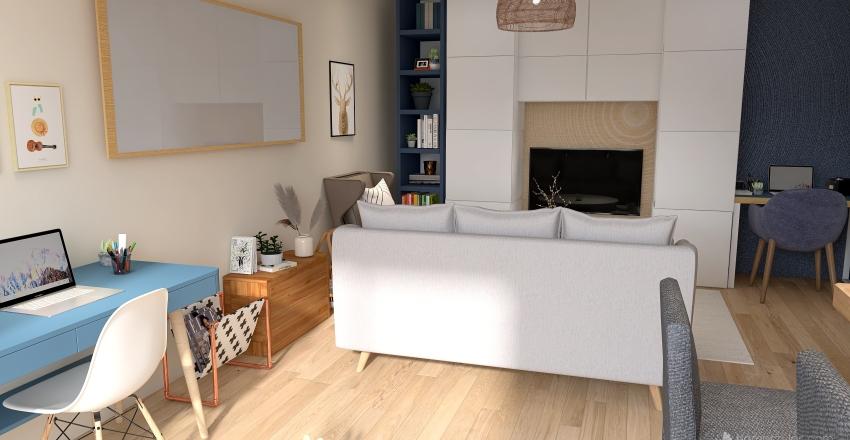 Appartement David&Olga Proposition 2 Interior Design Render