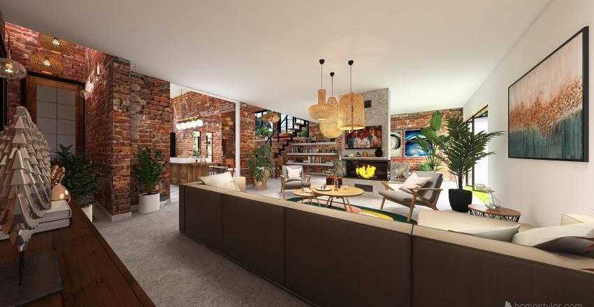 casa relax Interior Design Render