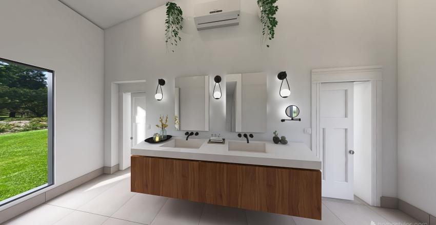 Casa López Rebagliatte V3 Interior Design Render
