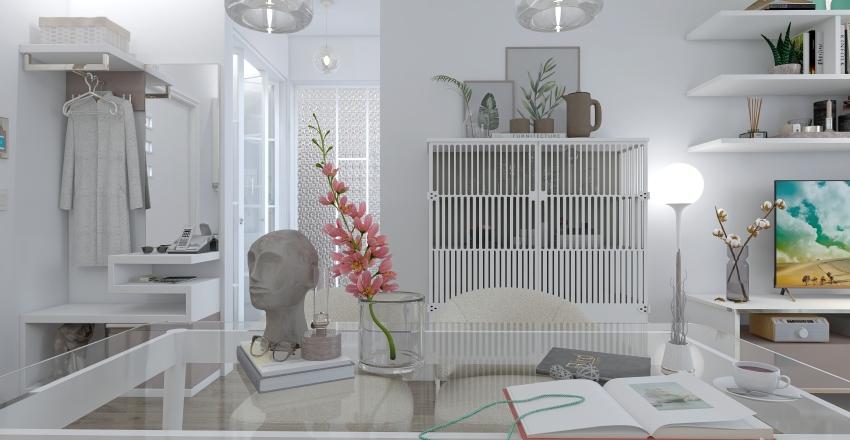 Maison Blanche Interior Design Render