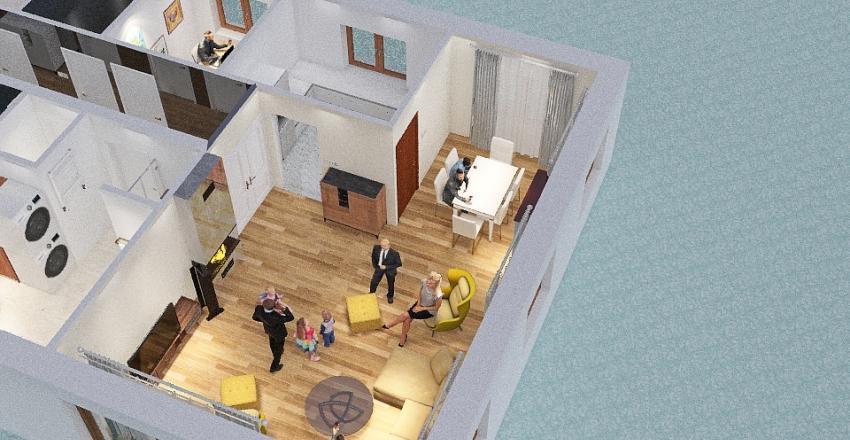 Copy of Nowy dom bez garażu Interior Design Render