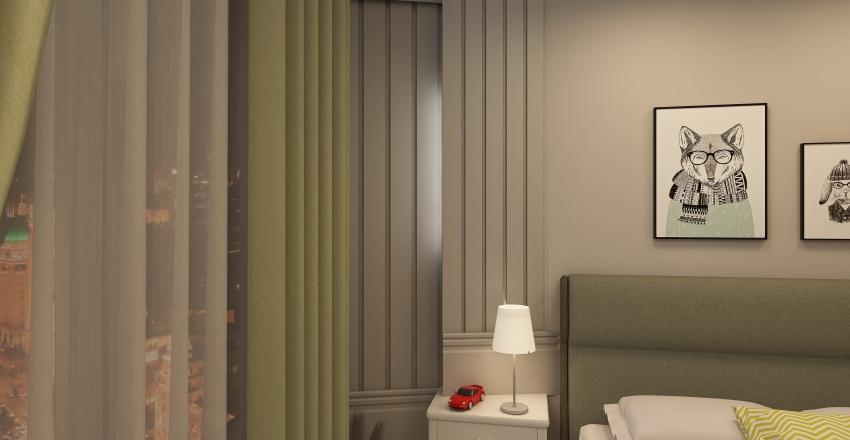 تركي Interior Design Render