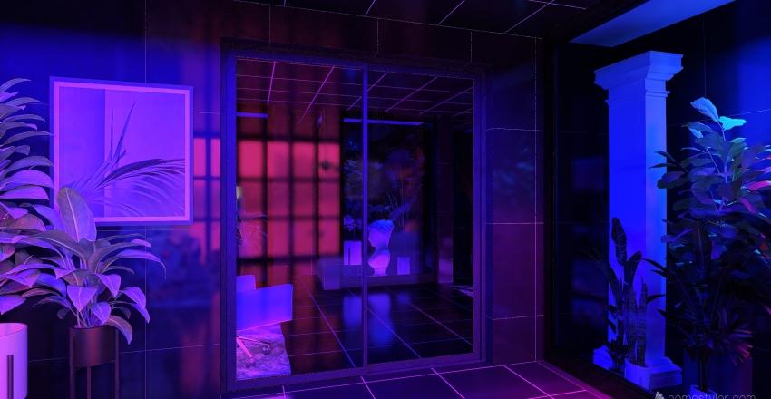 boyfriend house Interior Design Render