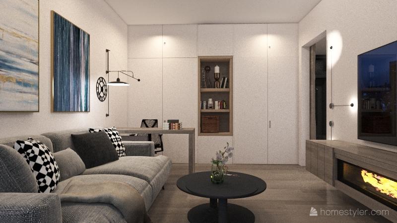 Старт2 Interior Design Render