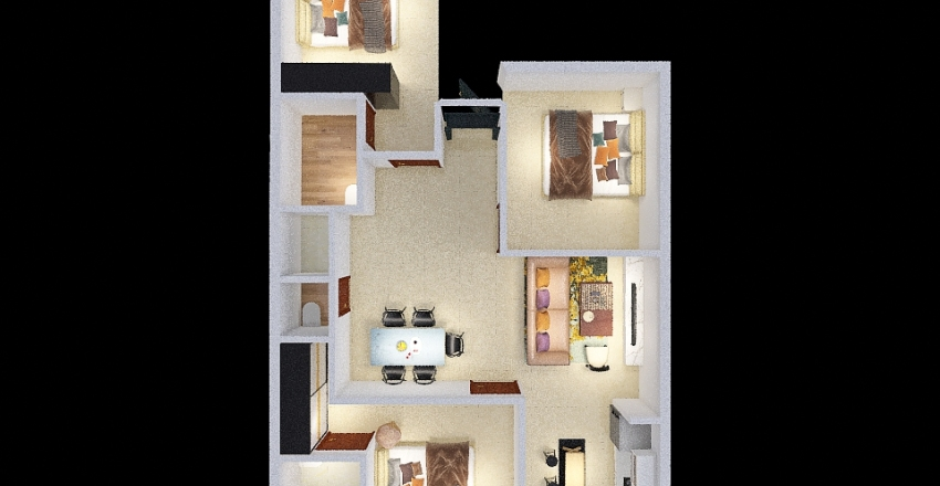HOME STYLE 3 Interior Design Render