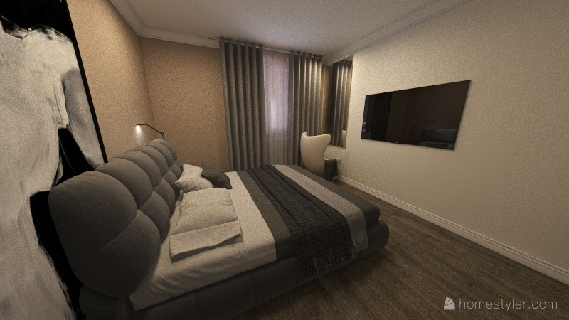 Copy of екннк Interior Design Render