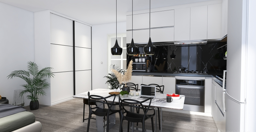BYT A6 - Krasice Interior Design Render
