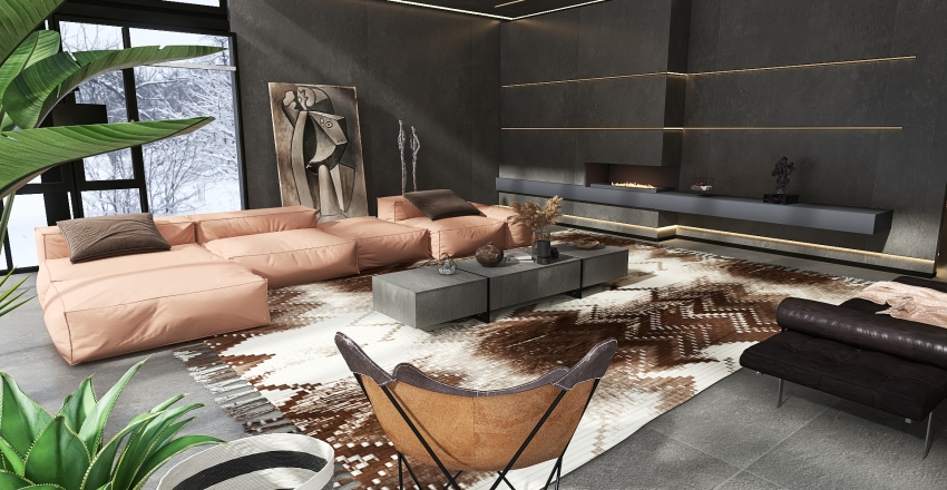 MODERN HAUS Interior Design Render