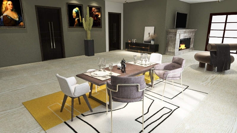 drea Interior Design Render