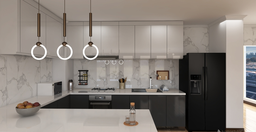 house experience Interior Design Render