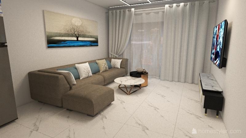 מודל 1 Interior Design Render