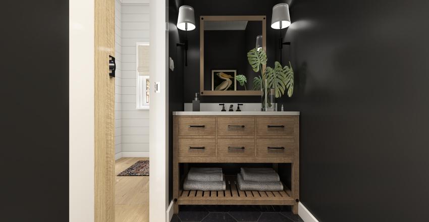 CAPE COD Interior Design Render