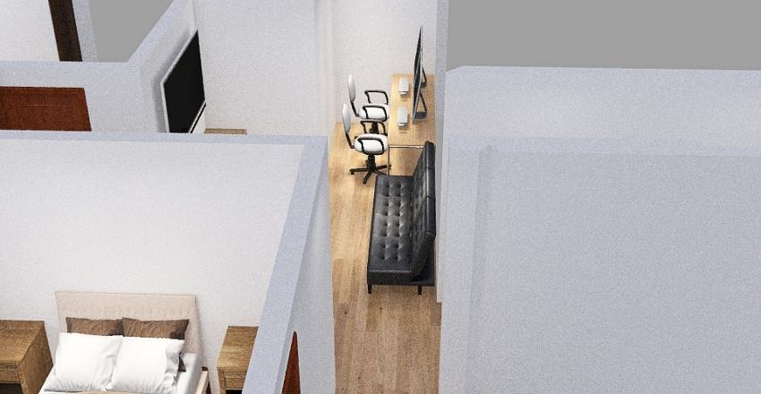 Cuartos DEPA Pedro Cordova 137 Interior Design Render