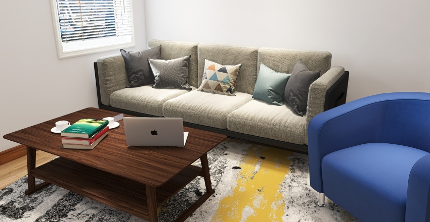 Hate Me Dorm Interior Design Render