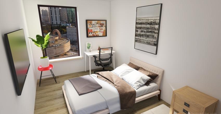 JD and motis house Interior Design Render