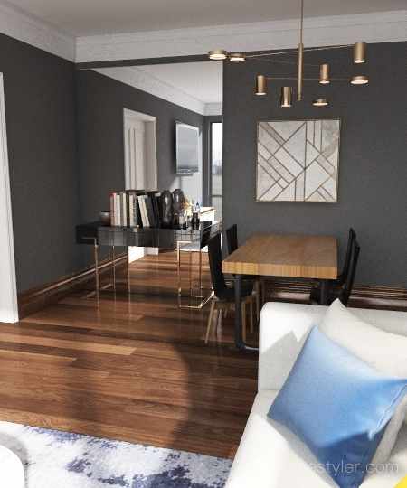 Apé Interior Design Render