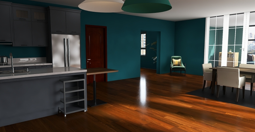 project nobody knows Interior Design Render