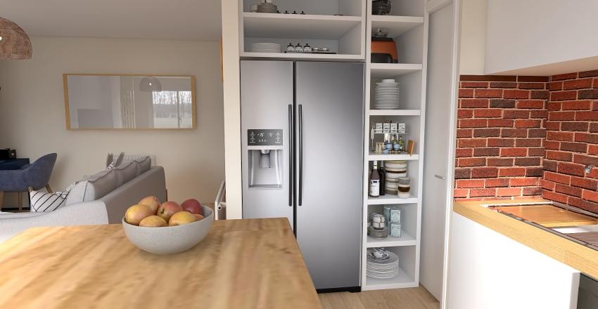 Appartement David&Olga Proposition 3 Interior Design Render