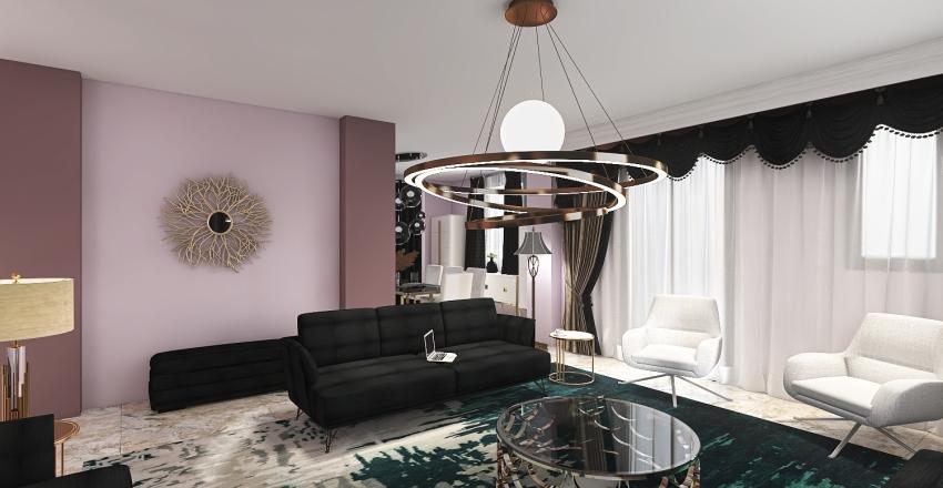 My Home Plane Interior Design Render