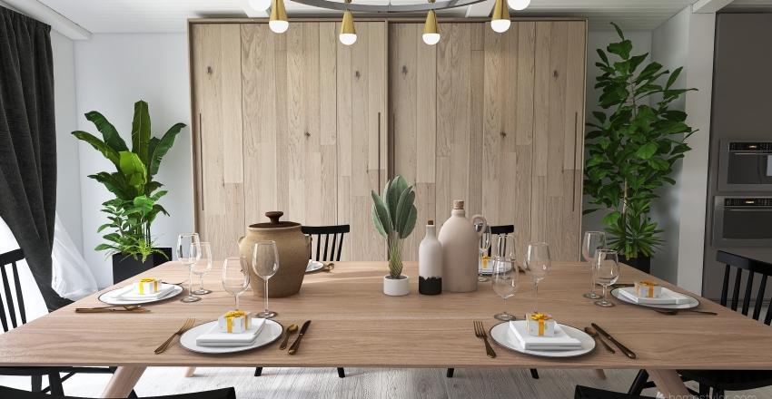 Haws kitchen and dining Reno Interior Design Render