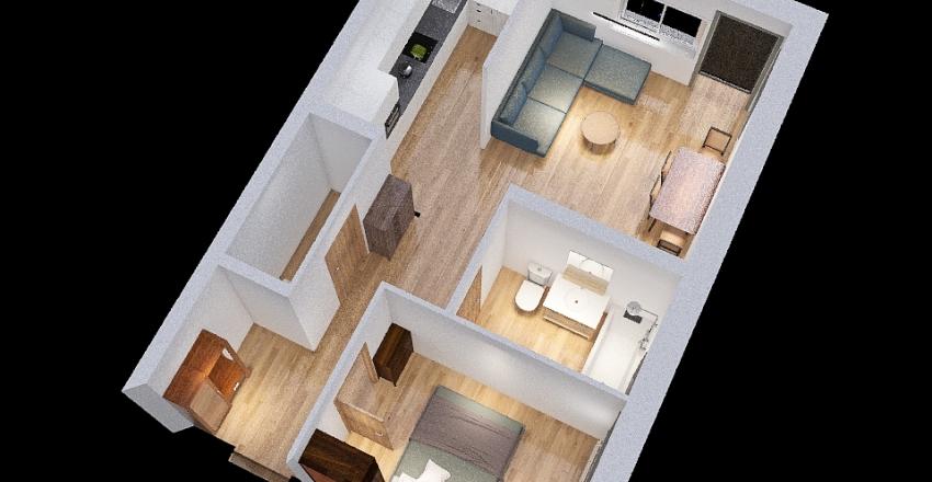 Mieszkanie_boguchwala Interior Design Render