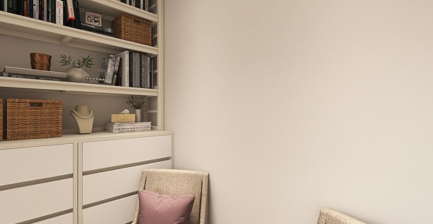 400 sqft studio Interior Design Render