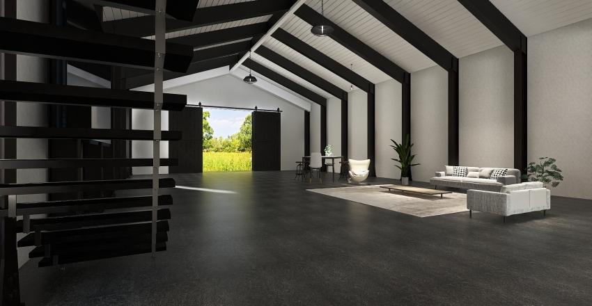 studio mode Interior Design Render