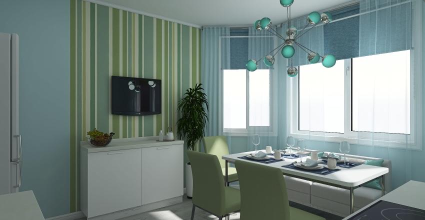 Квартира в Лианозово Interior Design Render