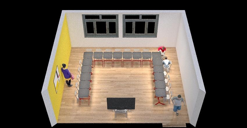 Progetta la tua aula Interior Design Render