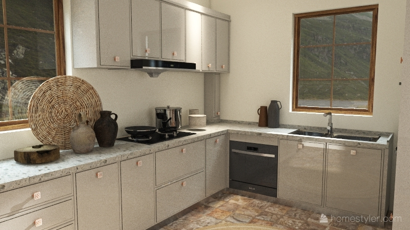 1b,1bd Interior Design Render