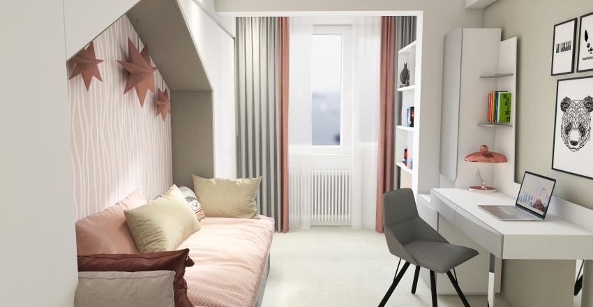Anthony's Room Interior Design Render