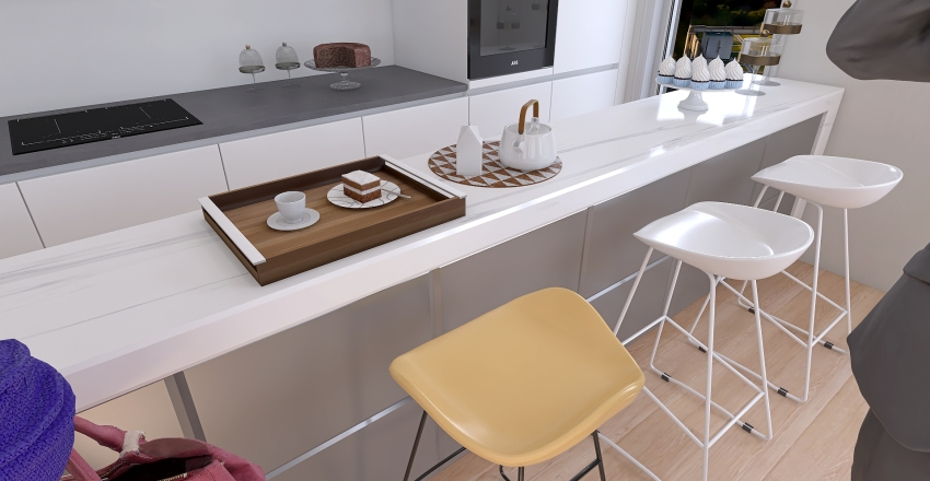 Modern-Minimalist Coffee Shop Interior Design Interior Design Render