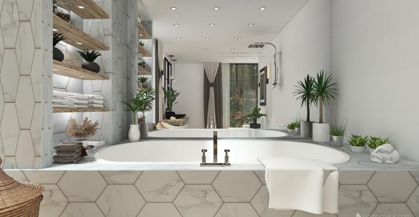 The Brera House Interior Design Render