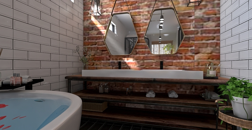 casa relax Interior Design Render