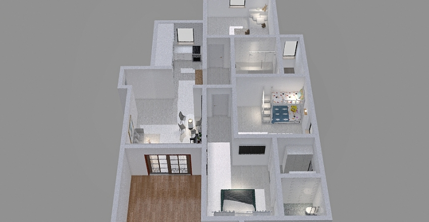 Copy of הבית שלנו Interior Design Render