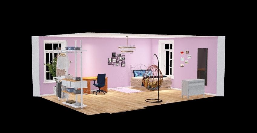 Sapņu istaba._copy Interior Design Render
